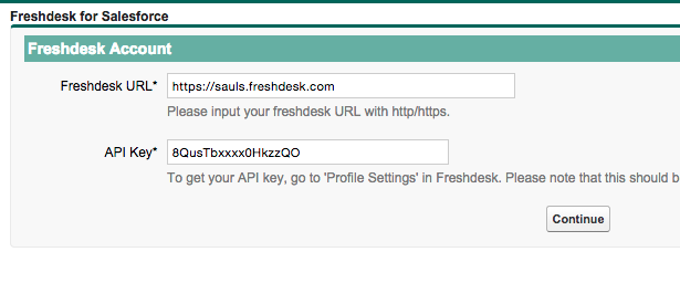 Integration with Salesforce Freshdesk