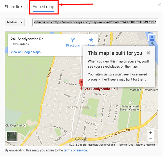 How to change the Google map in the Contact Us page + multi ... Map Embed on