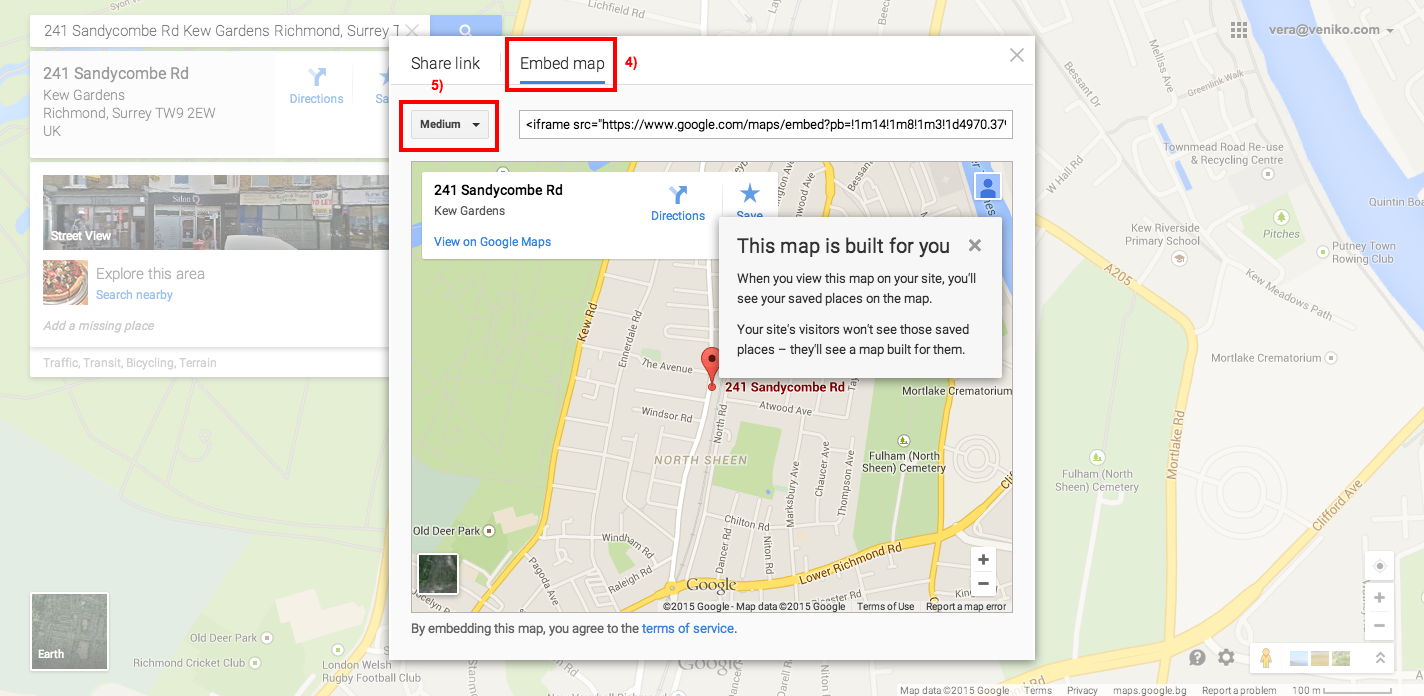 How To Change The Google Map In The Contact Us Page Multi Location