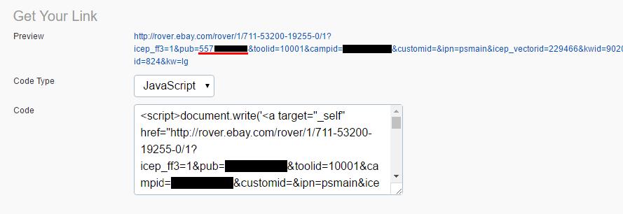 Where Do I Find My Ebay Publisher Id Helpdesk