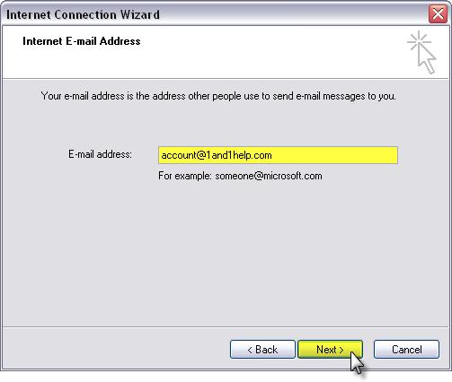 1and1.com webmail
