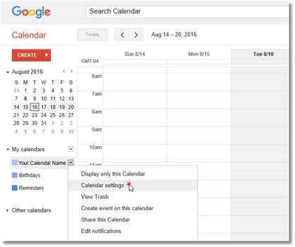 how to use google calendar for a group