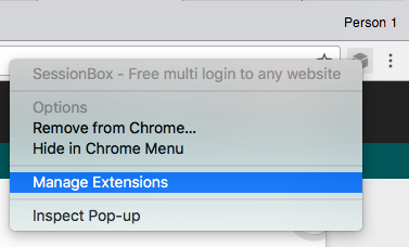 How to check extension version : SessionBox Support Portal