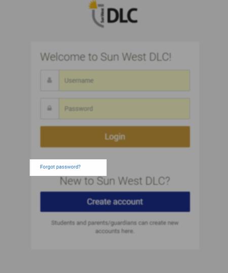 I forgot my DLCgo password, How do I reset? : Help Desk