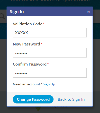 Reset Your Password : Altalis Support