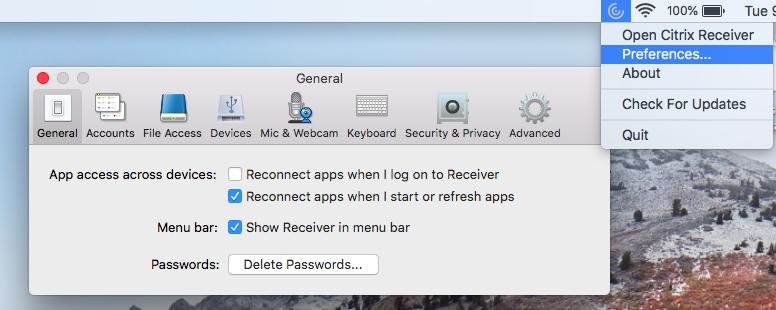 Troubleshooting stuck Citrix usernames with Mac Keychain