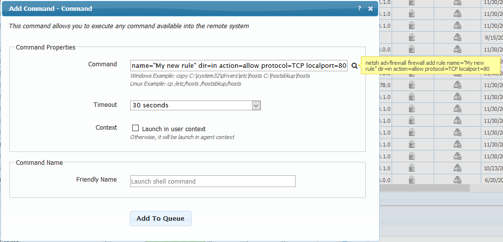 Open/Close TCP port in the firewall of your devices - WanPulse