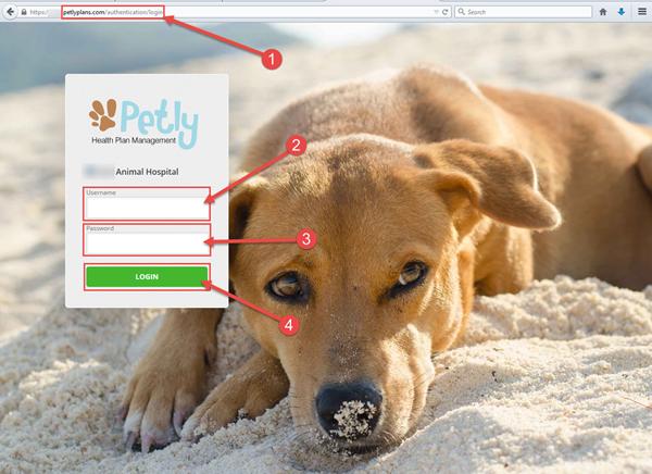 PHPM login page