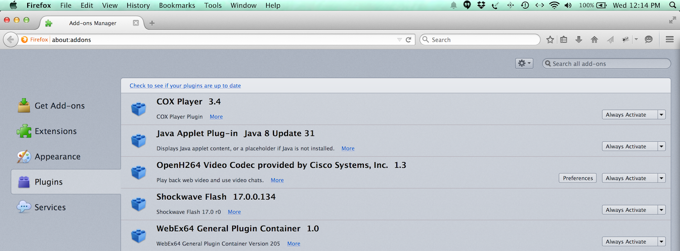 How to enable Java in my web browser? : Customer Support Portal
