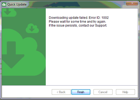 unable to install please try again later 102