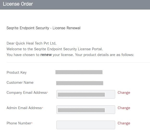 How to renew Seqrite Endpoint Security License : Seqrite