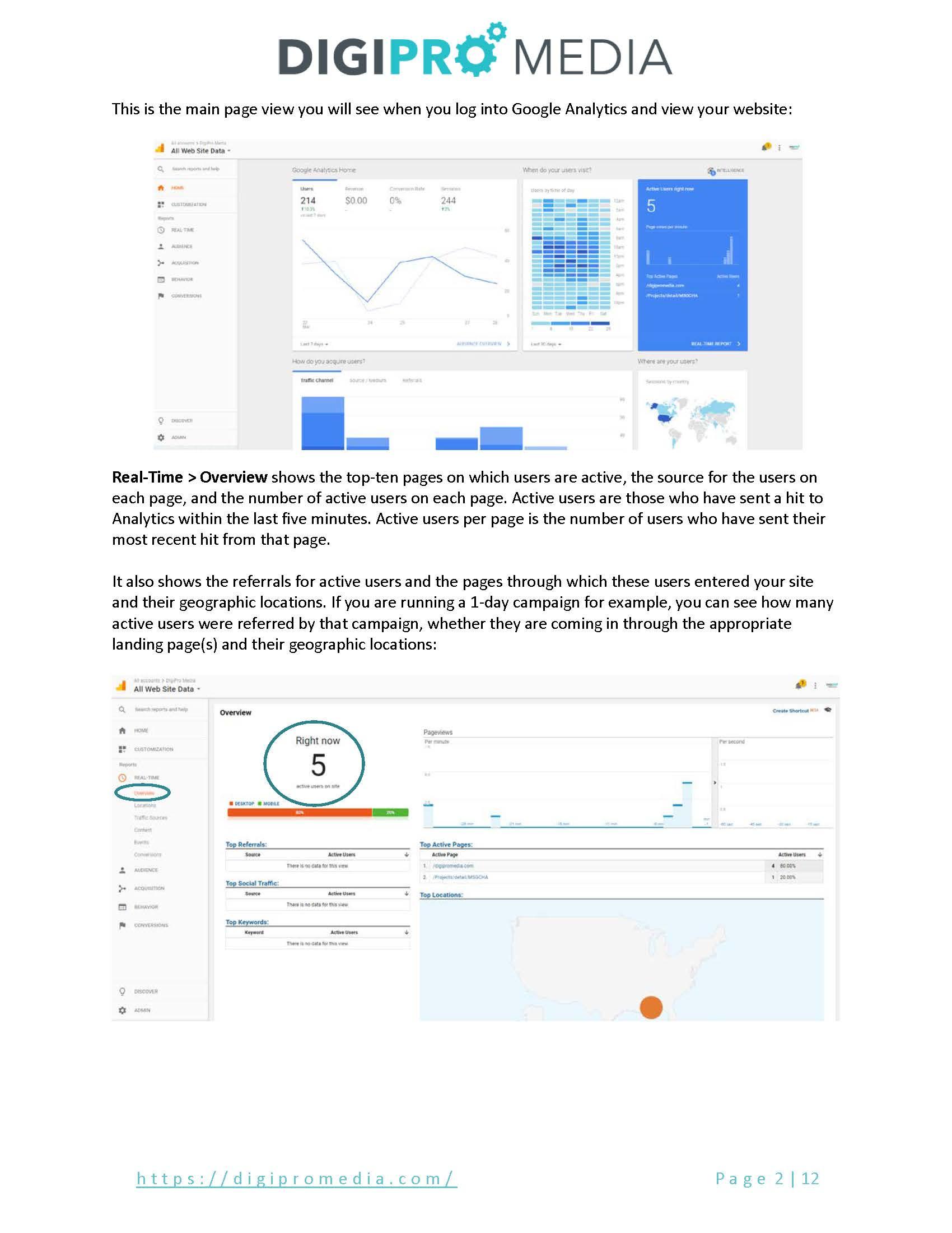 Google Analytics Tutorial :
