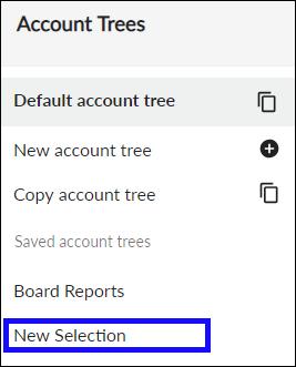 Rename account tree