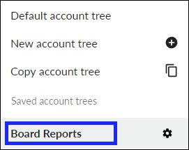 Copied tree now is saved account trees list