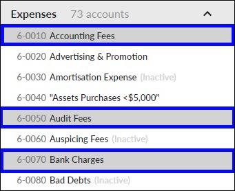 Select multiple accounts to drag and drop