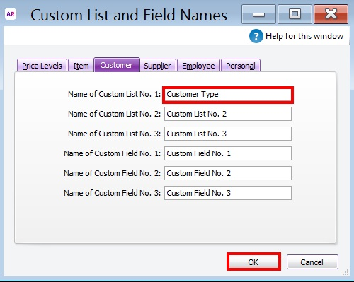 Naming Custom lists and Field names