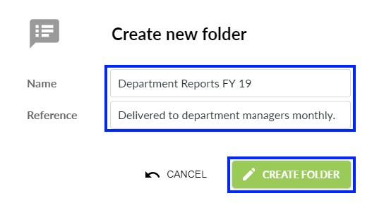 Folder Name & Reference