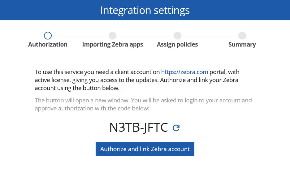 Zebra OTA updates