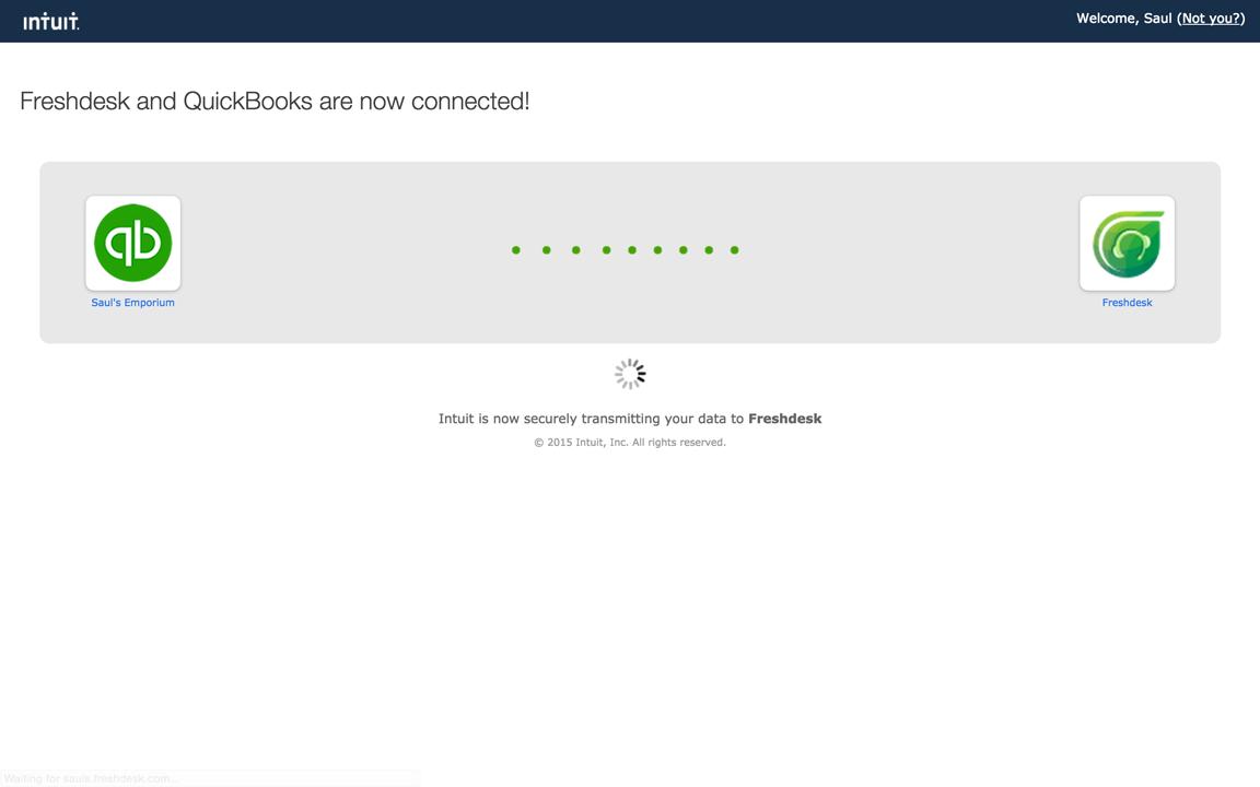 The QuickBooks App : Freshdesk