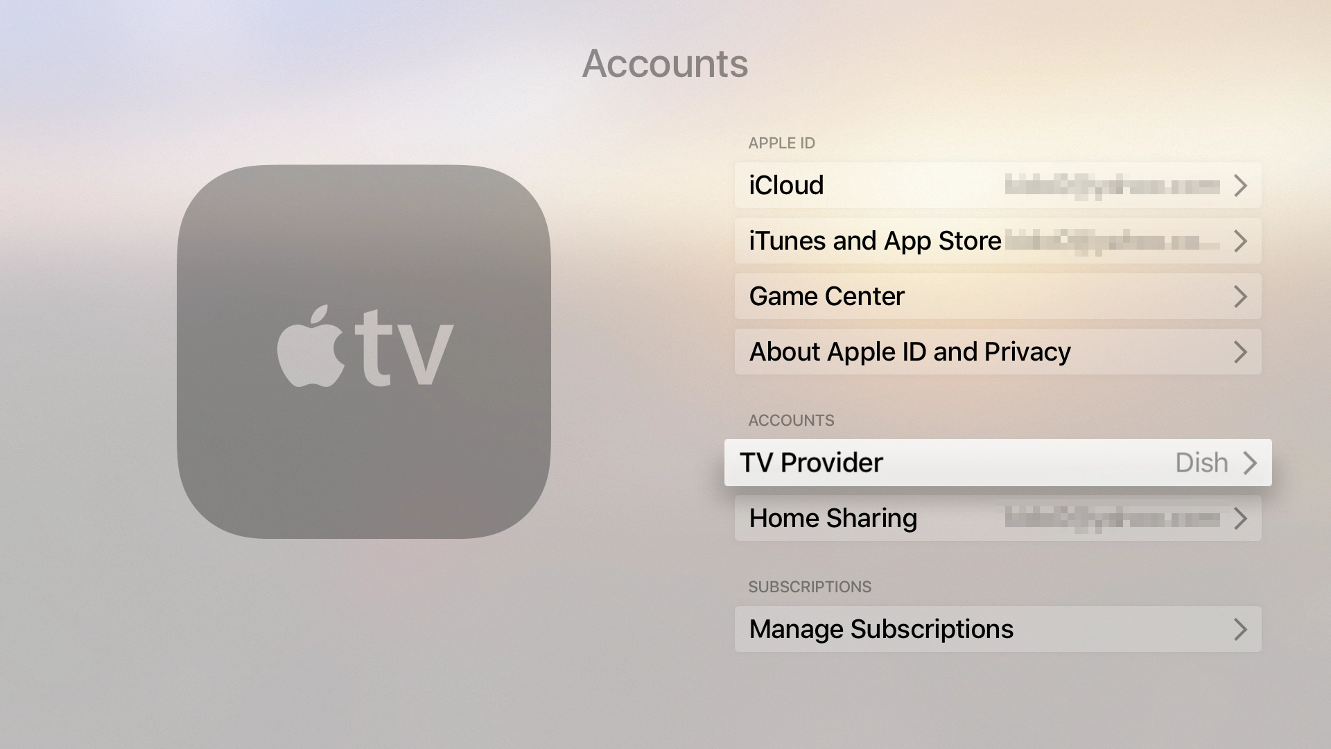 Apple TV 4 Single Sign-on with SimpleTelly : Global Network