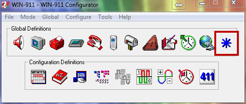 FactoryTalk View SE HMI tags Quick Start : WIN-911 Support