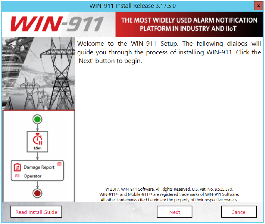 Install Guide: Standard / Interactive / Advanced : WIN-911 Support