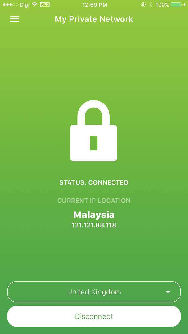 The Vpn Is Connected But My Ip Does Not Change My