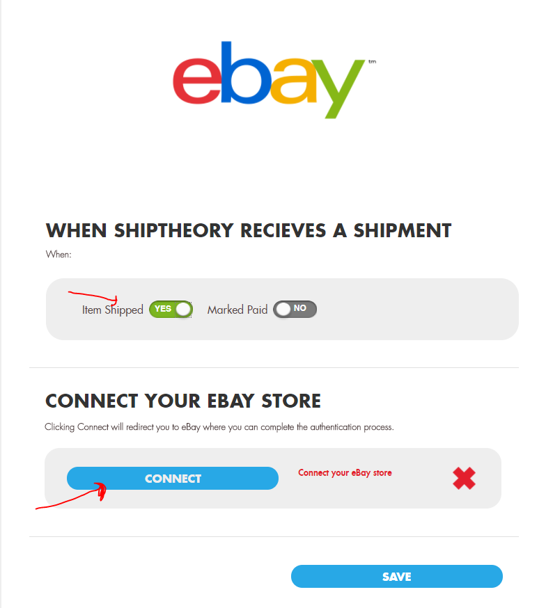 Getting Started With Ebay Shiptheory Support