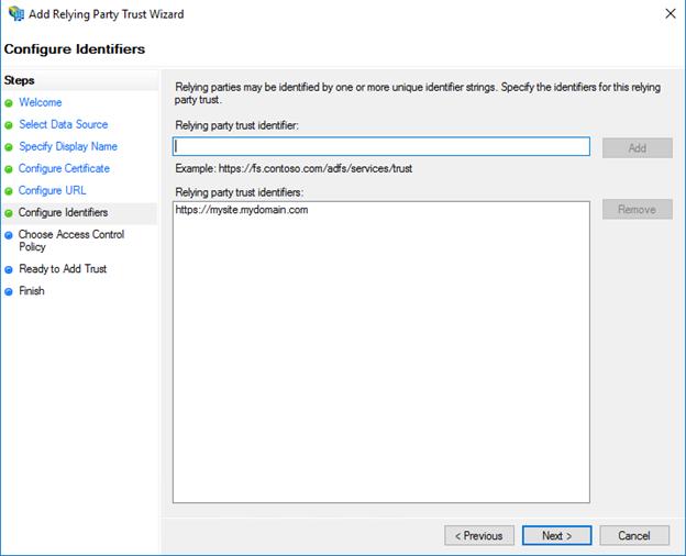 ADFS Single Sign On (SSO) Integration Guide - MyWorkDrive