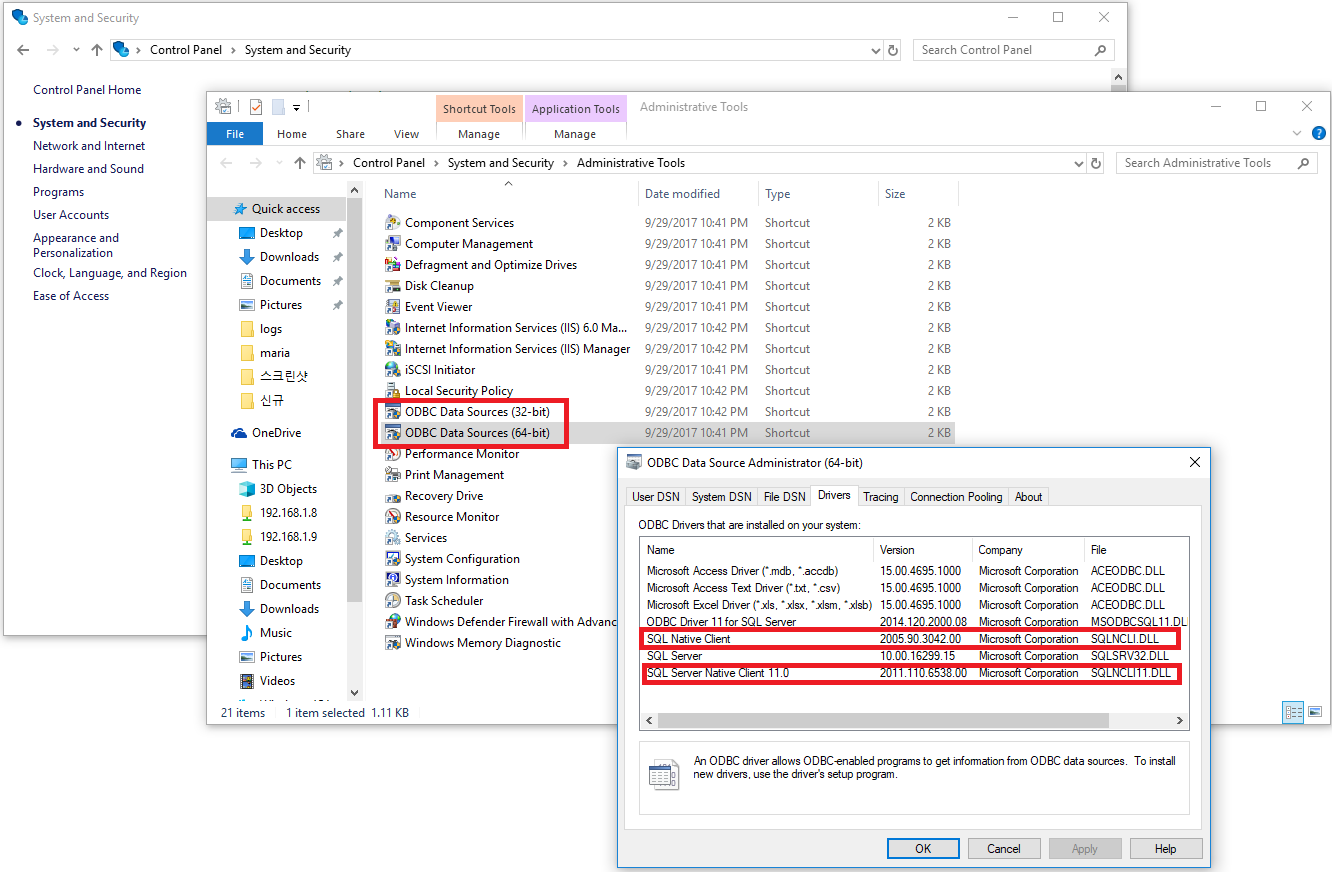 BioStar 2] Issue caused by ODBC Driver (MSSQL) : Technical