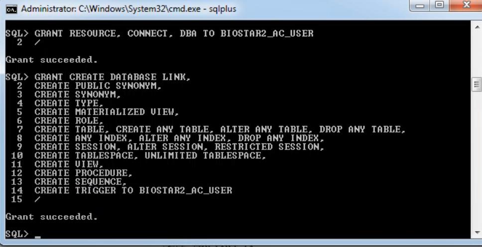 BioStar 2] How to install Oracle DB on BioStar2 v2 4 1 : Technical