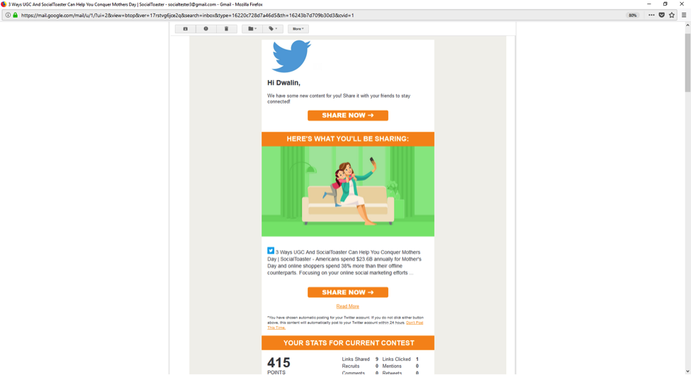 Twitter Only User Email