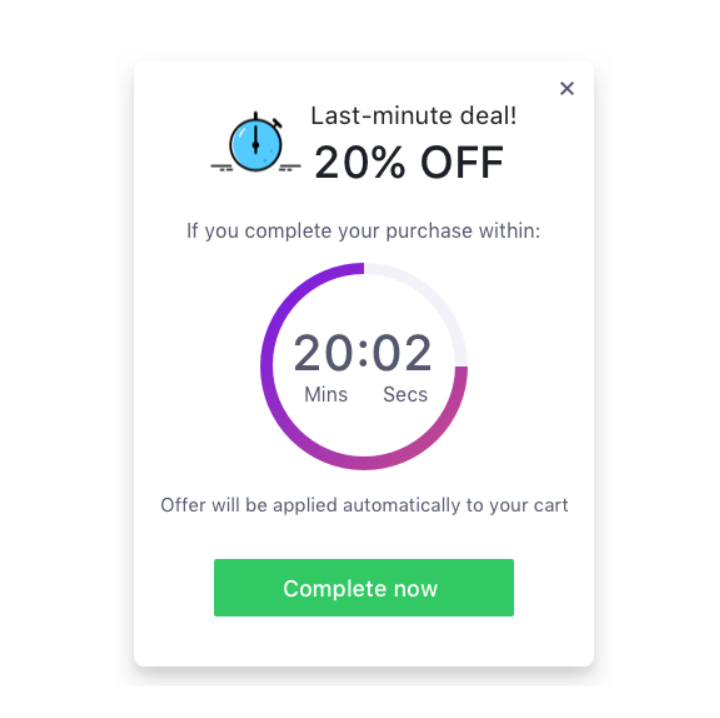 Checkout Boost - Countdown Timer
