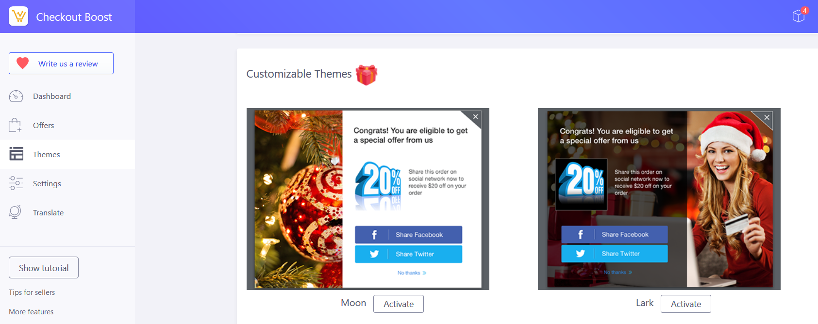 Checkout Boost - Customizable Theme
