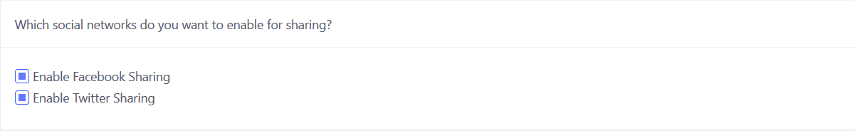 Checkout Boost - Select Social Network