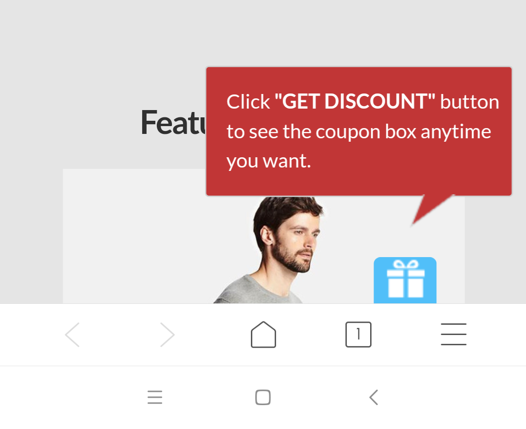 Better Coupon Box on mobile