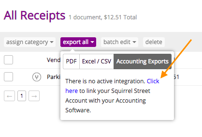 how to delete from receipts journal myob