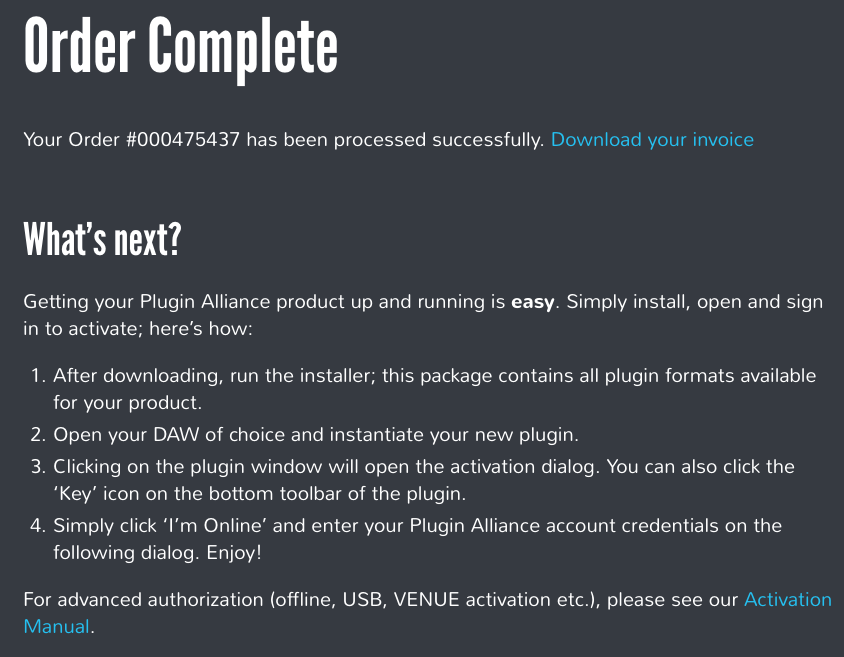 Customer Support - Plugin Alliance