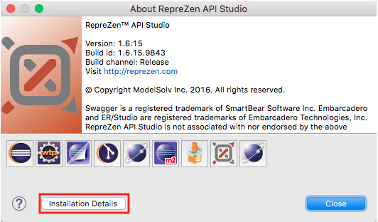 How do I run API Studio with a specific Java version? : RepreZen API