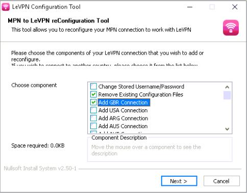 windows change password over vpn
