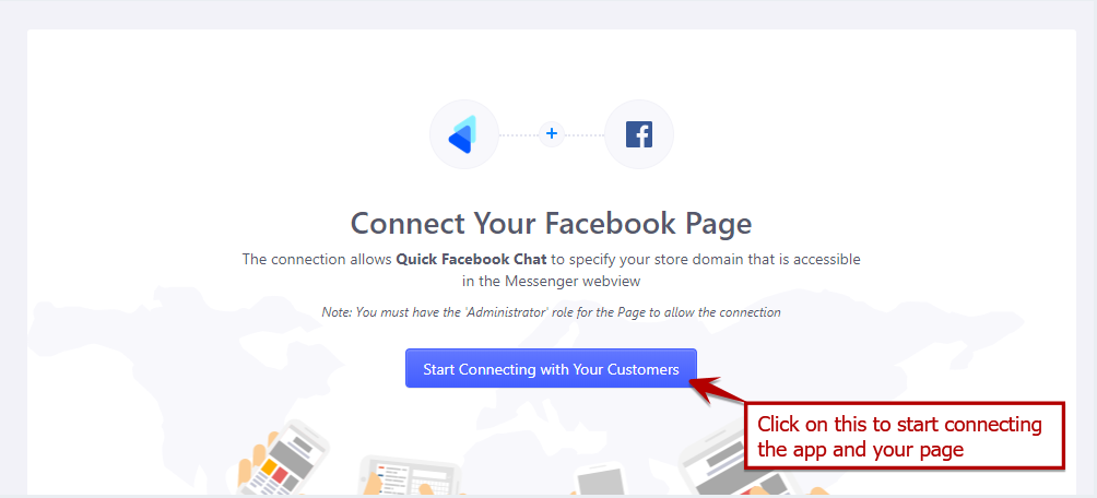 How to connect your store to your Facebook page using Quick Facebook