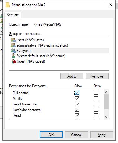 Synology NAS Setup : EasyWorship
