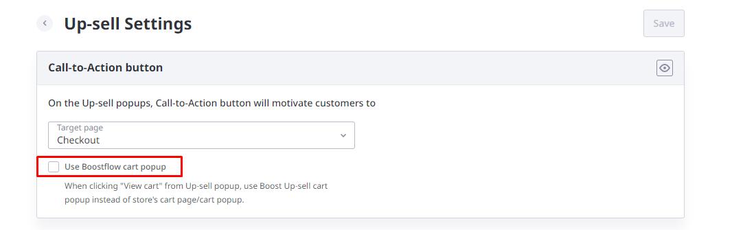 use Boostflow popup