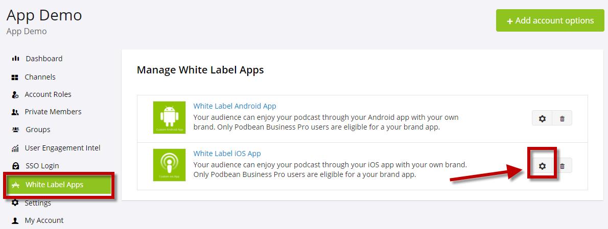 White label app ios