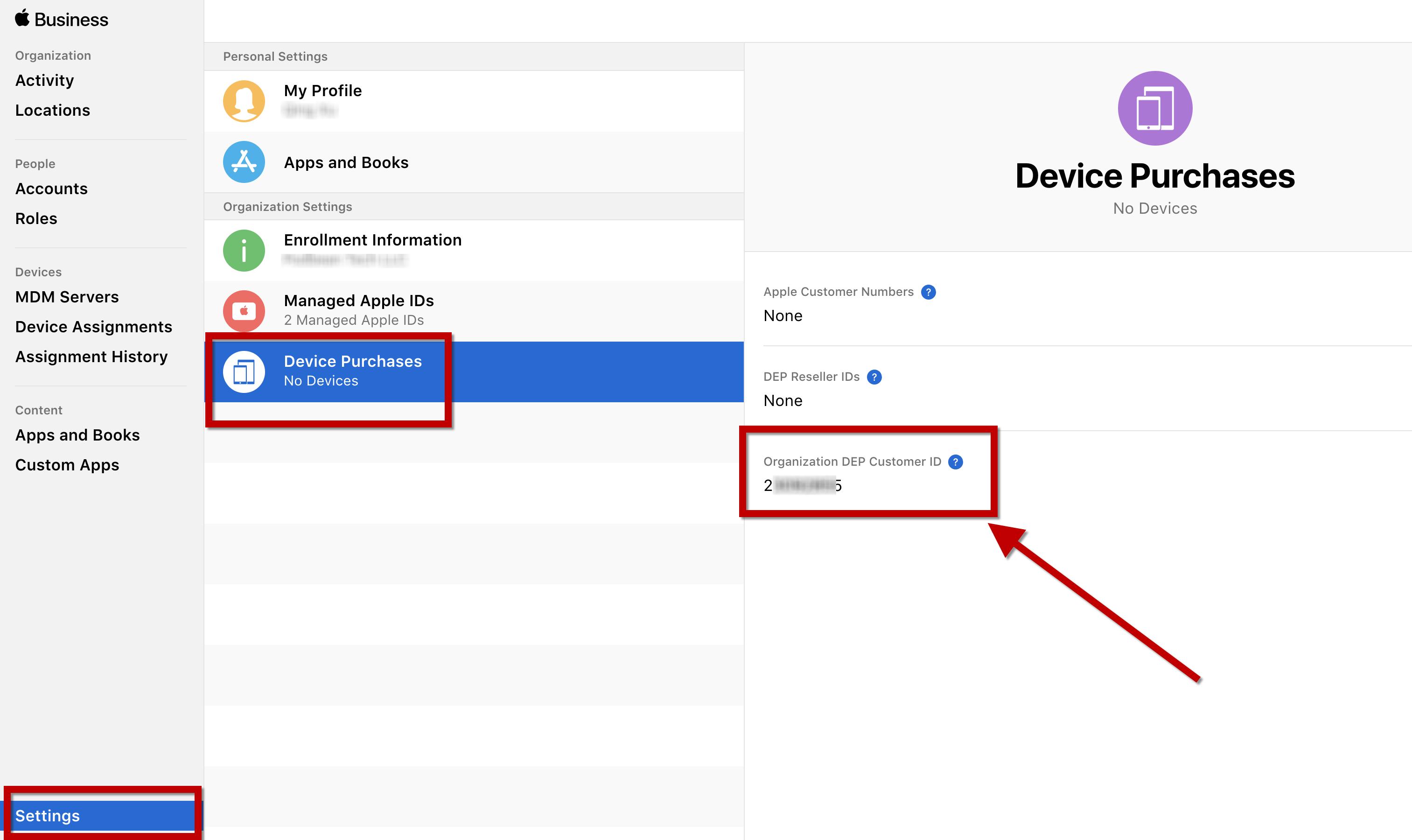 How To Get DEP ID For Your Custom B2B App - Podbean Tech LLC