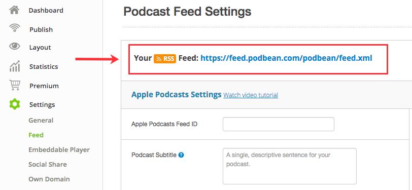 PodBean RSS Feed