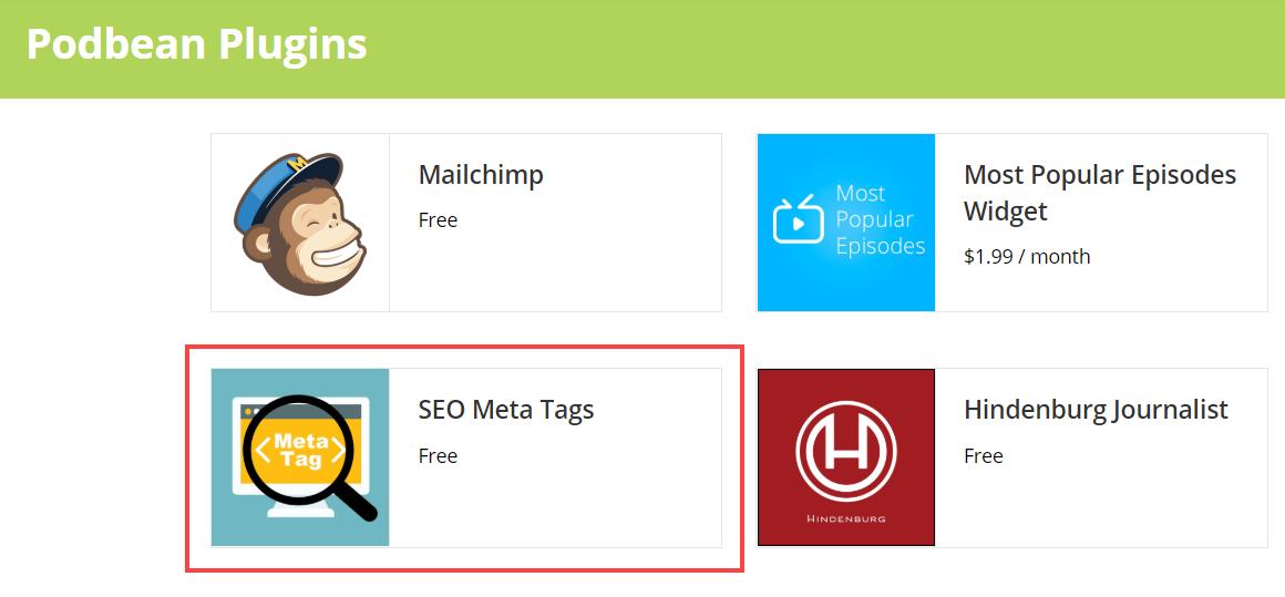meta tag app in app market