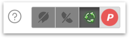 Status bar in the Agent's Dashboard