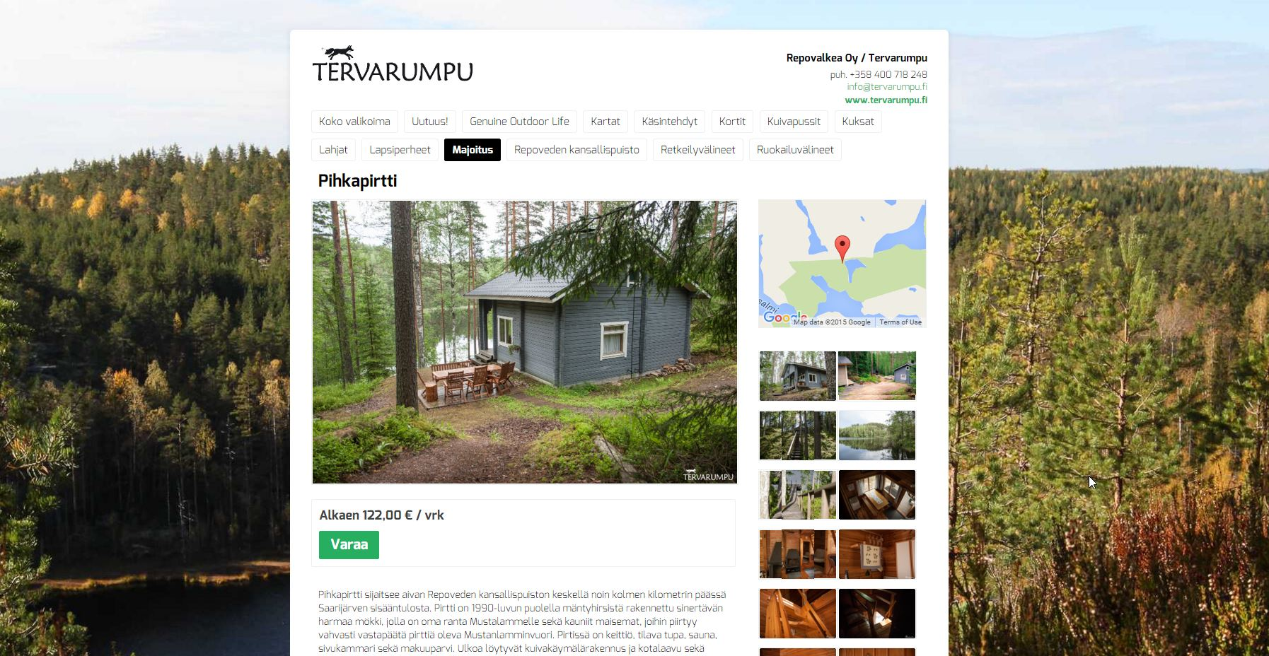 Johku Kauppapaikka: Pihkapirtti / Tervarumpu