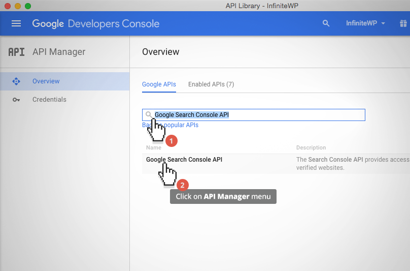 How do I enable the new Google Search Console (formerly